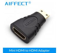 Переходник HDMI Mini HDMI 4К AIFFECT AI MHPBL