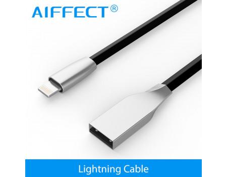 Кабель Lightning для Apple iPhone AIFFECT AI-ULZ01-BF20 2 м