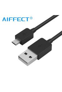 Кабель micro USB AIFFECT AI-UM2A2-BR10 1 м