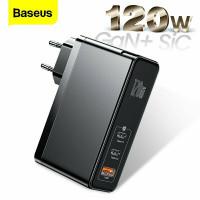 Сетевое зарядное устройство 3 в 1 Baseus GAN 120W PRO (GAN2PRO)