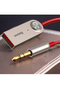 Baseus Bluetooth адаптер для авто AUX 3.5 мм USB Hands Free Bluetooth 5.0 (BA01-09)