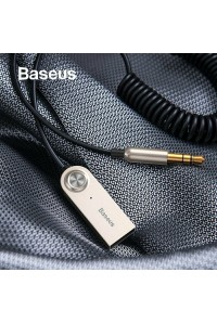 Baseus Bluetooth адаптер Hands Free для авто AUX 3.5 мм Bluetooth v5.0 (BA01-01)