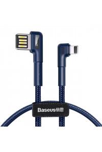 Кабель lightning для iPhone реверсивный 90° BASEUS CALKLF P03/N03