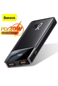 Baseus Power Bank 10000 mAh c Led дисплеем 20W QC 3.0 PD 3.0 (PPBD10K)