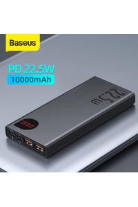 Baseus Power Bank 10000 mAh 22.5W QC PD FCP/SCP AFC LED дисплей (PPIMDB)