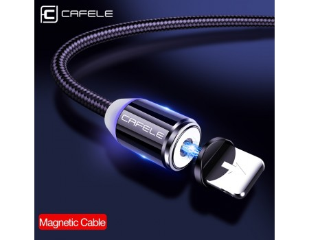 Магнитный кабель Lightning для iPhone Cafele SA1-40-01 1 м