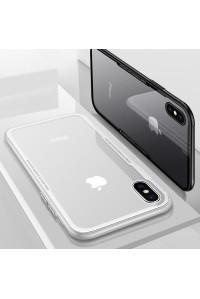Чехол для iPhone Х Glass 9H Cafele SA2-24-02