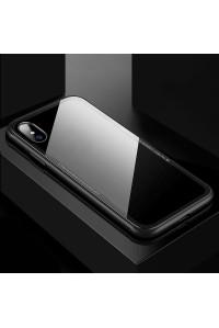 Чехол для iPhone ХS 5.8 Glass 9H Cafele sc1-06-03