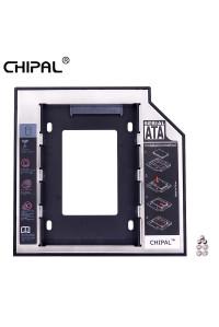Внутренний карман для замены 12.7 мм CD-ROM SATA ноутбука/HDD Caddy CHIPAL CP122