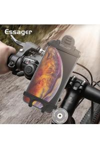 Держатель для телефона на велосипед, мотоцикл, детскую коляску, велотренажер Essager EZJZXC-QD01