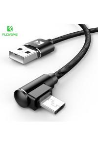 Кабель для быстрой зарядки Micro USB 90° FLOVEME YXF151977-1 1 м