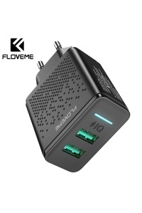 Зарядное устройство USB 2.4A 12W FLOVEME YXF170849