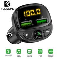 Bluetooth FM трансмиттер модулятор зарядное устройство Floveme Bluetooth 5.0 (YXF1918541)