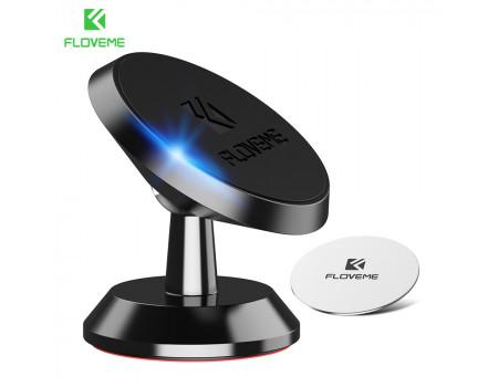 Магнитный держатель для телефона в машину Floveme Black