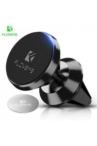 Магнитный держатель для телефона в машину Floveme 360 Black