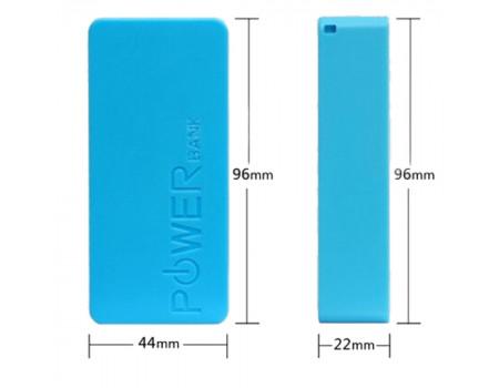 Корпус для 18650 5V 1A Power Bank для двух аккумуляторов, синий