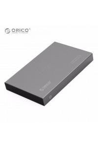 """Карман для HDD/SSD 2.5"""" USB 3.0 ORICO 2518S3-GY алюминий"""