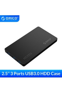 "Карман для HDD SSD 2.5"" + Хаб USB 3.0 Orico (OR-2588H3)"