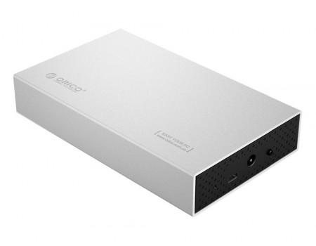 Корпус для HDD 3.5 USB 3.1 Type-C 10TB Orico 3518С3 SV алюминий