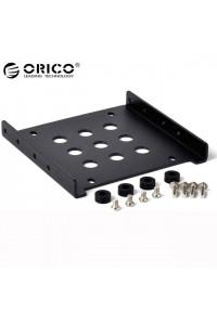 """Кронштейн для HDD/SSD 2.5"""" в отсек 3.5"""" ПК ORICO AC325-1S-BK"""