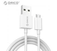 Кабель Micro USB Quick Charge 3.0 3А ORICO ADC-WH