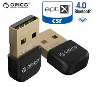 Bluetooth-адаптер 4.0 USB aptX ORICO BTA-403-BK