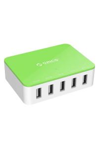 Зарядное устройство USB SMART 8A 40W ORICO CSA-5U-US-GR