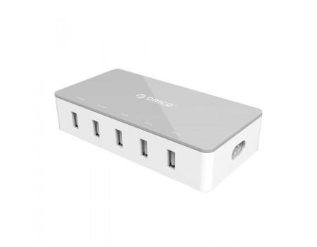 Зарядное устройство Orico CSH-5U-EU-GU SMART USB 30W 5 USB
