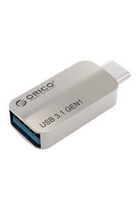 Переходник OTG Type-C USB 3.1 Orico CTA2-SV
