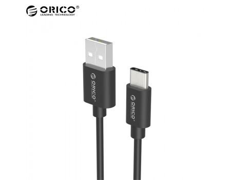 Кабель для быстрой зарядки USB Type-C ORICO ECU-BK 2 м
