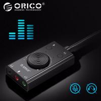 Внешняя звуковая карта USB AUX Orico SC2