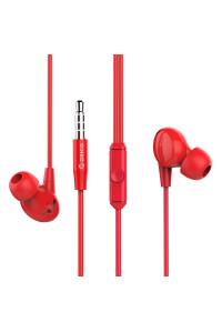 Наушники с микрофоном для телефона ORICO SOUNDPLUS-RP1-RD