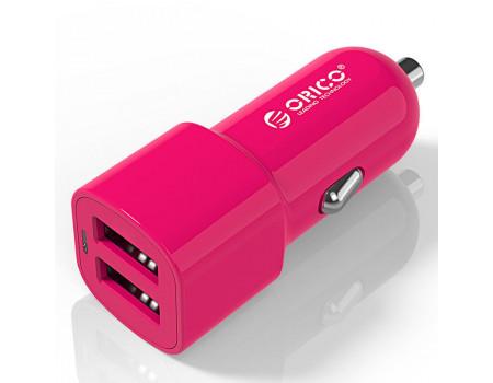 Автомобильное зарядное устройство 2 USB 17W ORICO UCL-2U-PK