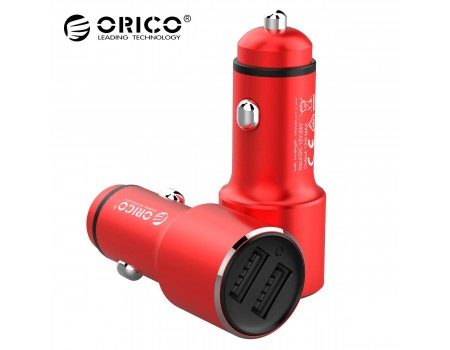 Автомобильное зарядное устройство 2 USB 12W ORICO