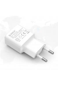 Зарядное устройство USB 1A 5W ORICO WHA-1U5W-WH