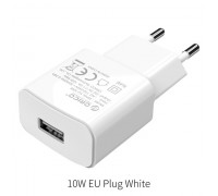 Зарядное устройство USB ORICO 2A 10W (WHA-1U-WH)