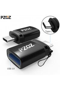 Переходник OTG Type-C USB 3.0 PZOZ C02-38 алюминий