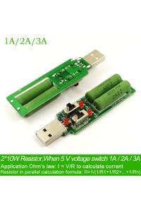 Нагрузочный резистор USB 1/2/3A