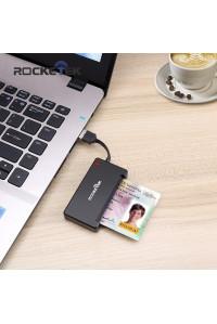 Считыватель смарт карт и сим карт Rocketek RT-SCR3 BK