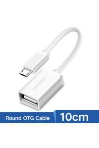 Переходник OTG micro USB Ugreen 10822 10 см