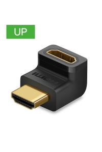 Переходник HDMI HDMI 90°(270°) 4K Ugreen (UG-20110) UP