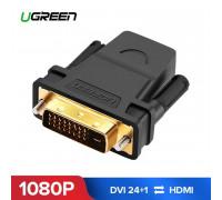 Переходник HDMI DVI D 24+1 Ugreen (UG-20124)