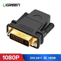 Переходник HDMI DVI D 24+1 Ugreen 20124