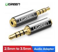 Переходник 3.5 мм на 2.5 мм Ugreen для наушников 2.5 мм (UG-20502)
