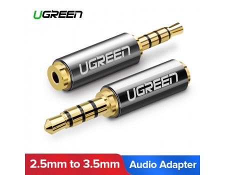 Переходник 3.5 мм на 2.5 мм Ugreen для наушников 2.5 мм (20502)