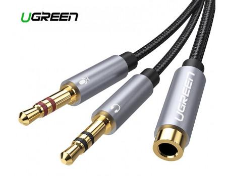 Переходник для наушников с микрофоном Ugreen CTIA (UG-20899)