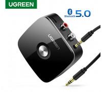 Ugreen Bluetooth 5.0 адаптер 2 RCA AUX приемник (UG-30445)