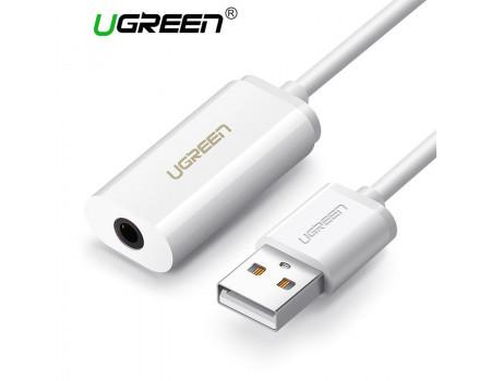 Звуковая карта USB 2 в 1 Ugreen 30712