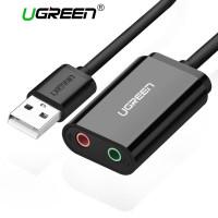 Звуковая карта USB Ugreen 30724