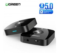 Ugreen Bluetooth ресивер aptX Low Latency AUX Hi-Fi Bluetooth 5.0 (UG-40758)
